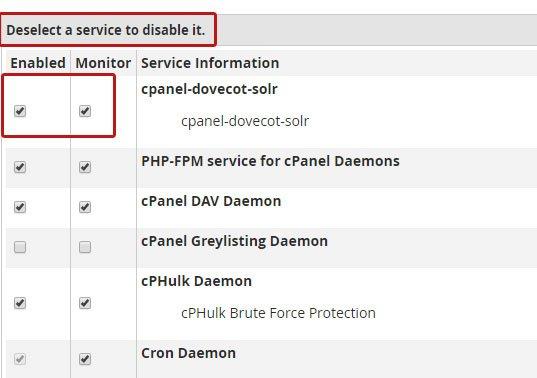 cpanelsolr تنظیمات سرور cPanel جهت افزایش سرعت وب سایت ها