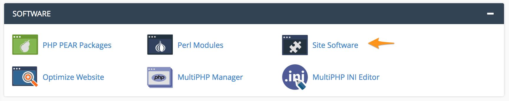 Site Software نصب کننده خودکار یا Installer برای وردپرس در cPanel
